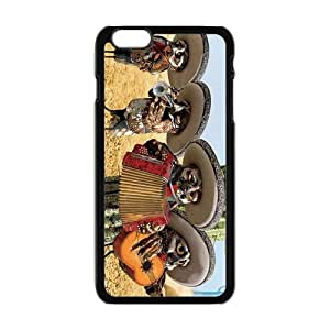 DAZHAHUI Cartoon Oil Paintings Mariachi Owls Design Personalized Fashion High Quality Phone Case For Iphone 6 Plaus BY RANDLE FRICK by heywan