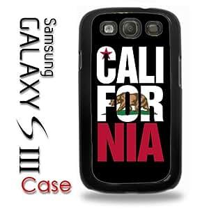 Samsung Galaxy S3 Plastic Case - Cali For Nia California Bear Flag