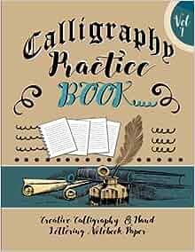 Calligraphy Practice Book Creative Calligraphy Hand