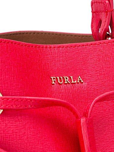 FURLA FEMME 793933RUBY ROUGE CUIR SAC PORTÉ ÉPAULE