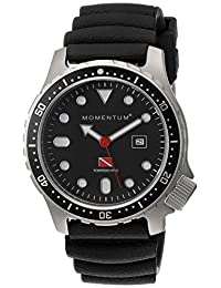 Momentum 1M-DV44B1B Men's Torpedo PRO Sport Wrist Watches, Black