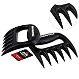 claws meat shredder - BBQ Masters Meat Claws (Set of 2) - Pulled Pork Bear Claw Meat Shredder Forks - Safely Pull, Shred, Carve and Lift Pork, Beef, Poultry and Fish