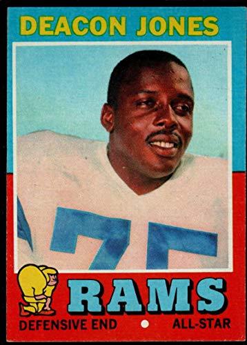 Football NFL 1971 Topps #209 Deacon Jones EX/NM LA Rams ()