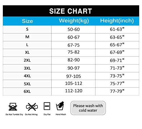 DoLoveY Men/'s Shapewear Bodysuit Full Body Shaper Compression Slimming Suit