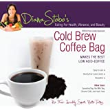 Cold Brew Coffee Bag - #1 Raw Food Nut Milk Bag and Cold Brew Coffee Maker - Food Strainer - Filter Bags - Fine Mesh Strainer - Mesh Filter - Sturdy and Reusable - Amazing Multi-purpose Kitchen Tool - Free Recipe E-book 12 Amazing Nut and Seed Milks