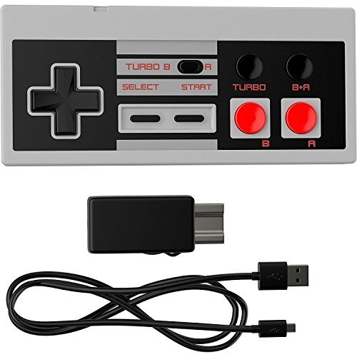 Ortz Nes Classic Edition Mini Controller  Turbo Edition  Rapid Buttons For Nintendo Gaming System  Nintendo Nes   Wireless