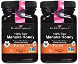 Wedderspoon Raw Manuka Honey Active 16+, 17.6-Ounce Jar (two pack)