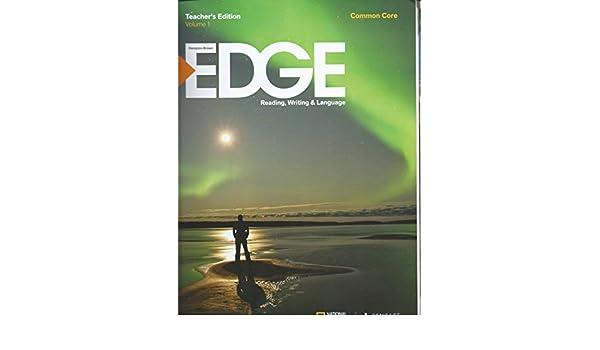 Edge Reading Writing Language Level A Common Core Vol