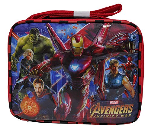 Marvel Avengers Infinity War IronMan & Dr. Strange Boys' Insulated School Lunch Bag