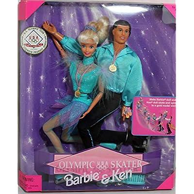 Barbie & Ken Olympic Skater (1997): Toys & Games