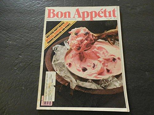 Bon Appetit Jul 1982 Party Recipes; Barbecues And Picnics