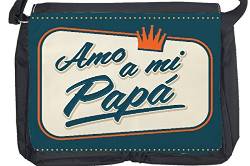 Borsa Tracolla Divertimento Papa Stampato