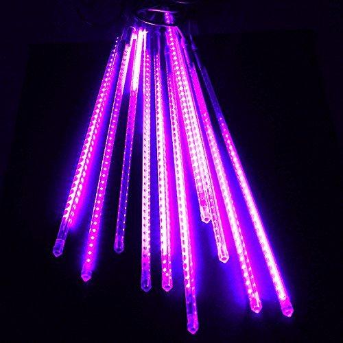 電光ホーム イルミネーション スノーフォールライト LED スノードロップライト つらら 50cm10本セット ピンク pink防水仕様 スノードロップ 流れ星 防雨型 防水 LED 電飾 イルミネーションライト 装飾 照明 ライト クリスマスライト B00QSGGRWK 10450
