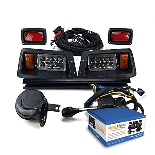 NEW RecPro YAMAHA G14-G22 GOLF CART DELUXE STREET LEGAL ALL LED LIGHT - Led Signal Kit Street