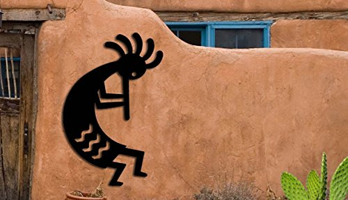 Kokopelli - Southwest Design - Home & Garden - Large (15 w x 23 h) Metal Art - Indoor - Outdoor Hand Made USA