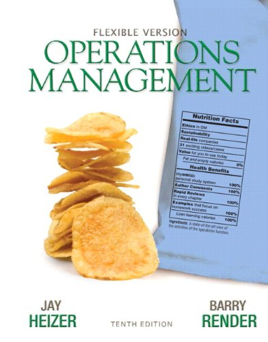 (Operations Management Flexible Version Plus Lecture Guide and Activities Manual Plus NEW MyOMLab with Pearson eText -- Access Card Package (10th Edition) )