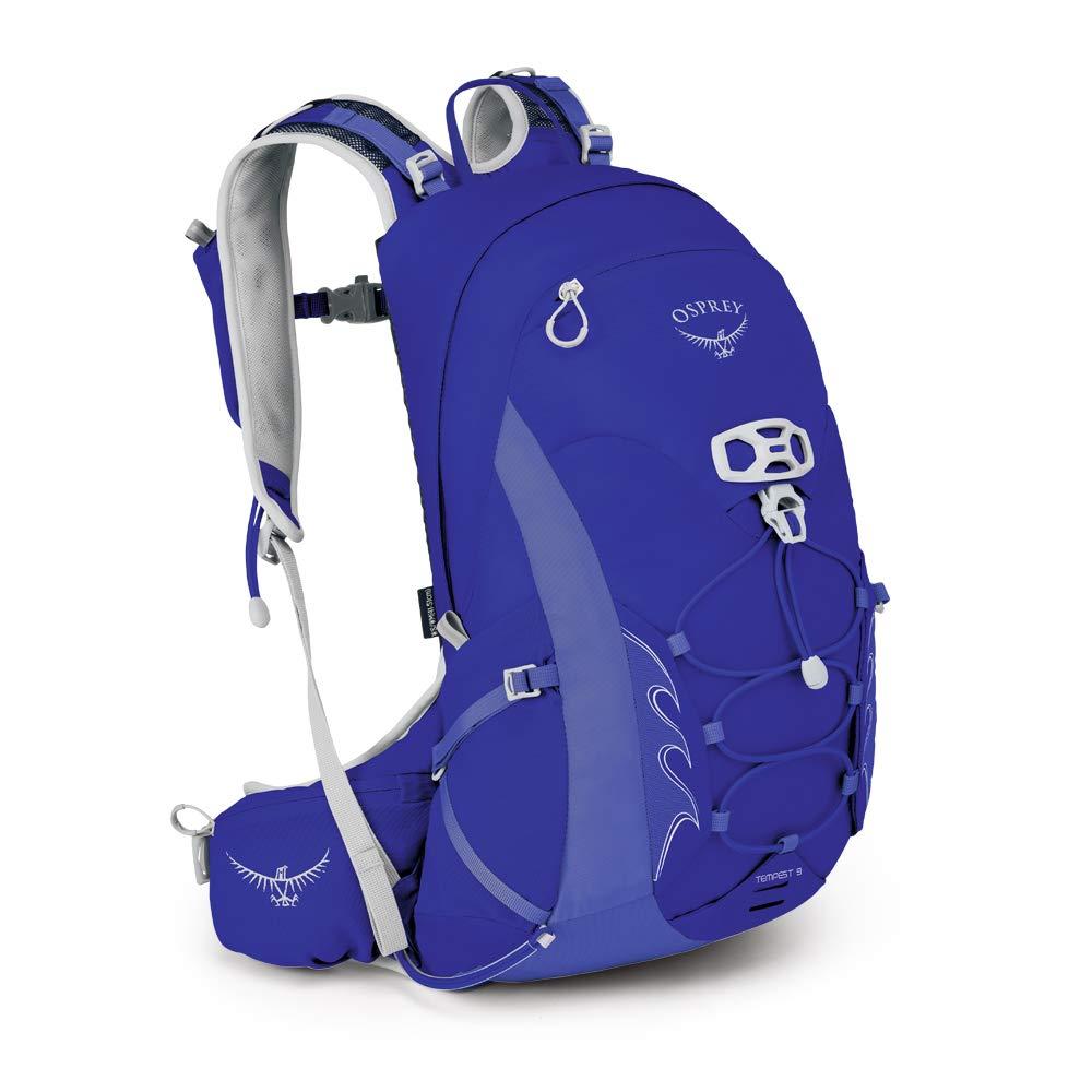 Osprey Packs Tempest 9 Women's Hiking Backpack, Iris Blue, Ws/M, Small/Medium