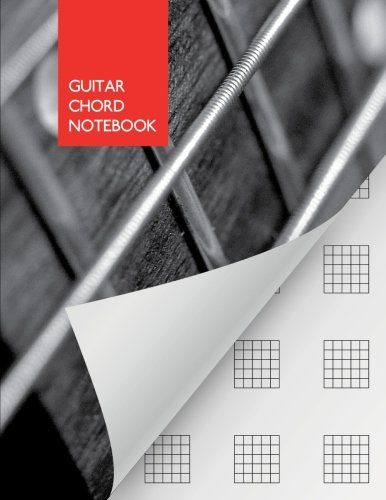Guitar Chord Notebook: blank | 110 pages | Guitar/Bass Fretboard Paper