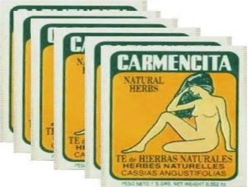 Carmencita Herbs Tea (Pack of 60) by Carmencita