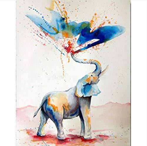 Pintura digital diy - pintura de paisaje de pared para la ...