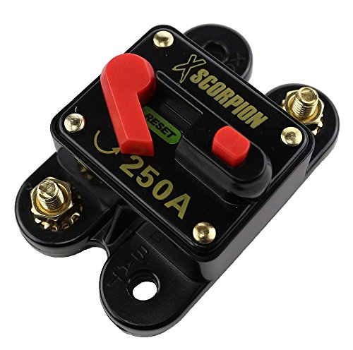 House Additions. XSCORPION (CB250) 250 Amp Circuit Breaker with Manual Reset #homeimprovement