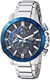 Casio Men's 'Edifice Connected' Quartz Stainless Steel Sport Watch, Color Silver-Toned (Model: EQB-800DB-1ACF)