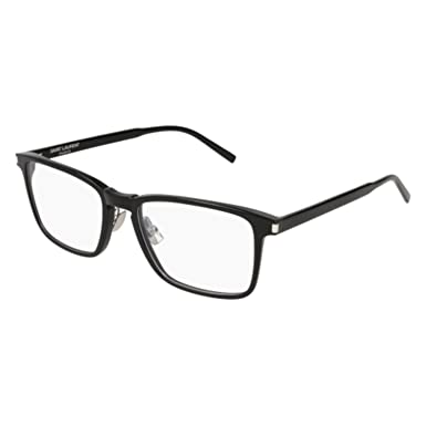9cd51254f2375 Image Unavailable. Image not available for. Color  Eyeglasses Saint Laurent  SL 187 SLIM- 005 ...