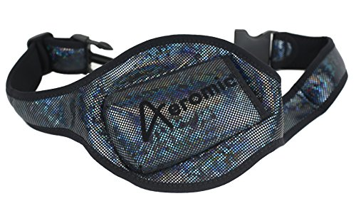 Aeromic Hipster Special Edition Mic Belt - Sparkle Black - Sparkle Hipster
