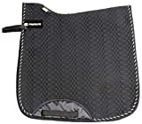 Merauno Quilted Saddle Pad High Withers Cloth Numnah Dressage Cotton Quilted Horse Saddle Pad Jumping Saddle Pad