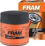 FRAM Extra Guard PH4967, 10K Mile Change Interval Spin-On Oil Filter