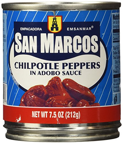 Make Slow Cooker Goat recipes with San Marcos Chipotle Peppers in Adobo sauce 7 Ounces.