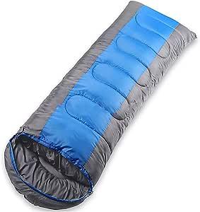Poecent Sleeping Bag,Sleeping Bag, Comfort Portable Lightweight Envelope Sleeping Bag,Great for Family Camping,1 Pack, Blue