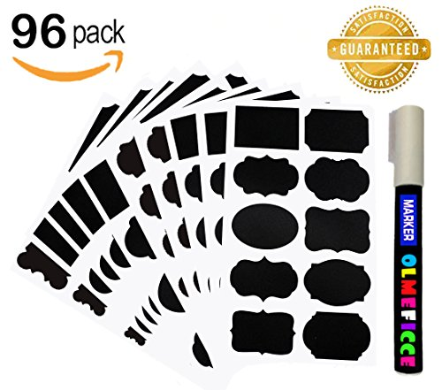 olmeficce-chalkboard-labels-with-96-pack-premium-reusable-stickers-and-1-erasable-white-chalk-marker