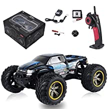 GPTOYS S911 1/12 2WD 40km/h High Speed Remote control Off Road Cars Classic Toys Hobby/moster truck (Blue)