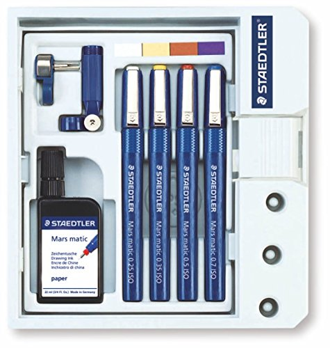 - Staedtler Marsmatic 4 Pen Set