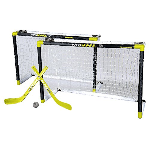 Franklin Sports 4700400  NHL Mini Hockey 2 Goal Set