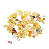 OTGO 50g Yellow Agate Crystal Stones Mini