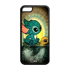 Mystic Zone Lilo and Stitch Cover Case for Iphone 5C Hard (Cheap IPhone5)