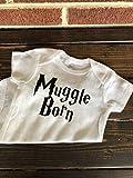 Muggle Born Harry Potter Inspired Baby Onesie