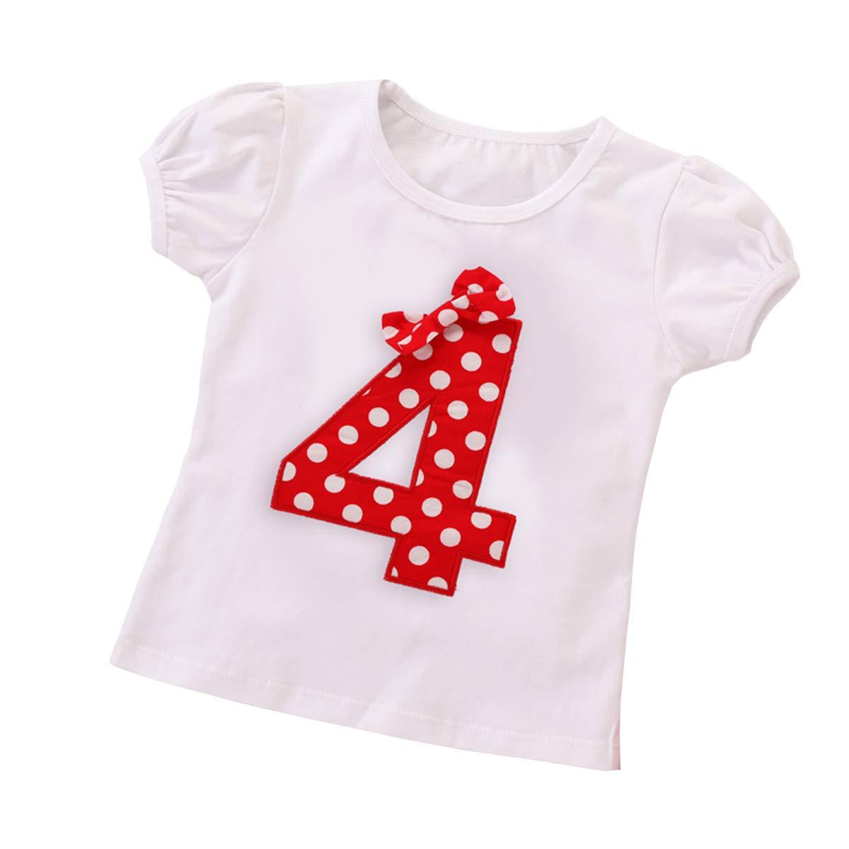 Pois Stampa Pantaloncini Mouse Fascia Completi 3 Pezzi Ragazza Compleanno Festa Abiti Fotografia Tuta Estivo Abbigliamento Set IMEKIS Neonata Bambina Vestito Manica Corta Top T-Shirt