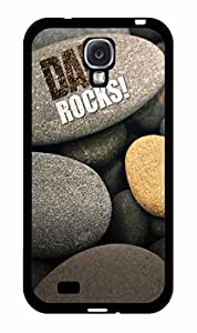 Funny Dad Rocks Plastic Phone Case Back Cover Samsung Galaxy S4 I9500