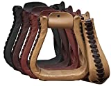 Showman Leather Covered Western Stirrups! New Horse TACK!
