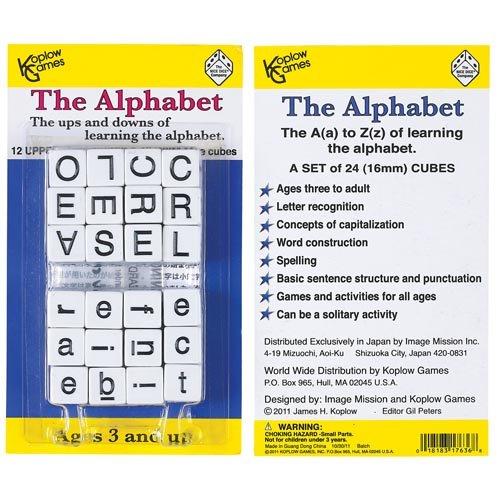 Koplow Games Grades Prek Alphabet Dice Game (12 Piece) - Buy