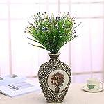 JAKY-Global-Artificial-Flowers-Babysbreath-Fake-Water-Plants-Bouquet-6-Bundle-Fake-Plants-Wedding-Bridle-Bouquet-Outdoor-Home-Office-Christmas-Decor-Purple