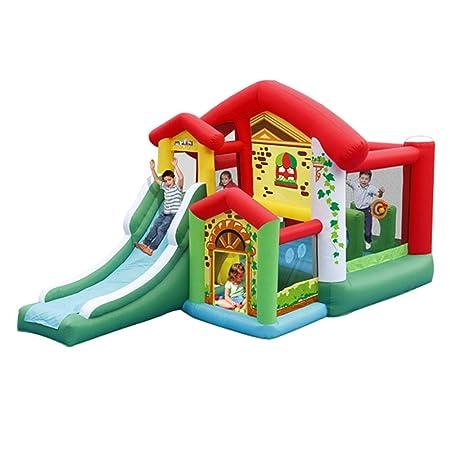 DorisAA-Toys Castillo Hinchable Inflable Casa Castillo ...