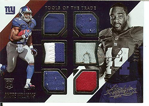 2014 Absolute Tools of the Trade Complete Rookies #4 Andre Williams RC Rookie MEM /249 NY Giants from Absolute