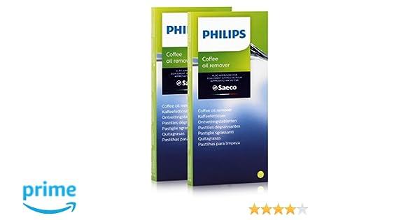Philips Saeco CA6704/10 kaffeefettlöser - 6 pastillas de 1,6 g (2 ...