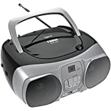 NAXA Electronics NPB-260 MP3/CD Boombox with USB Player, Black