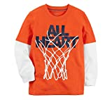 Carter's Baby Boys' Basketball Layered Look Jersey Tee 24 Months