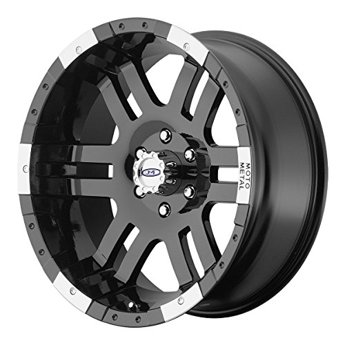 """Moto Metal MO951 Gloss Black Wheel With Machined Face (18x9""""/5x127mm, +18mm offset)"""